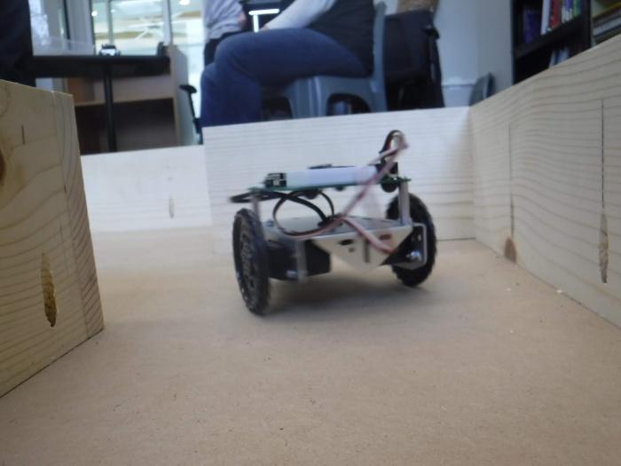 Programmed Rover